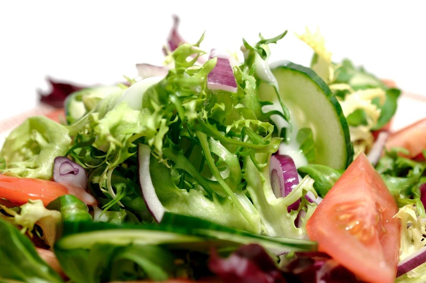 Verse salade met tomaat